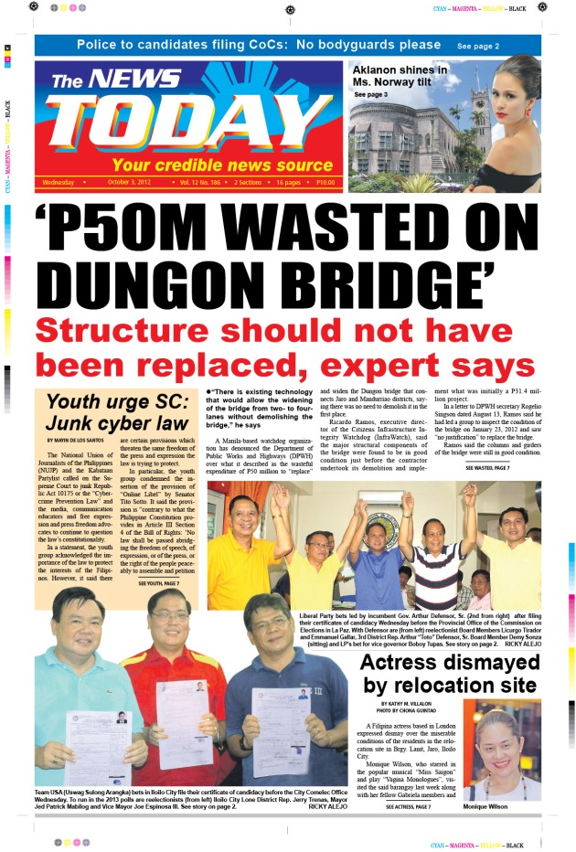 The Dungon bridge: another monument of corruption