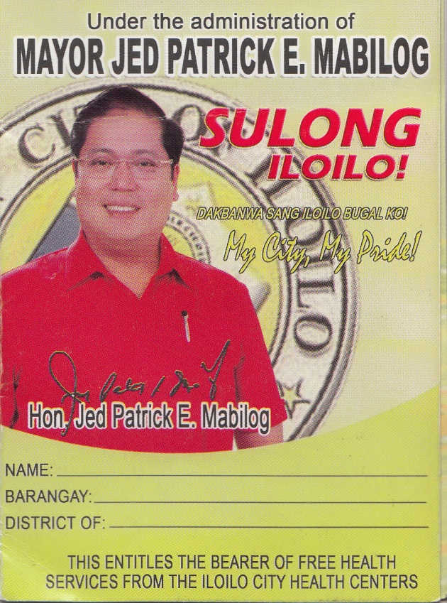 Mabilog's epal health card