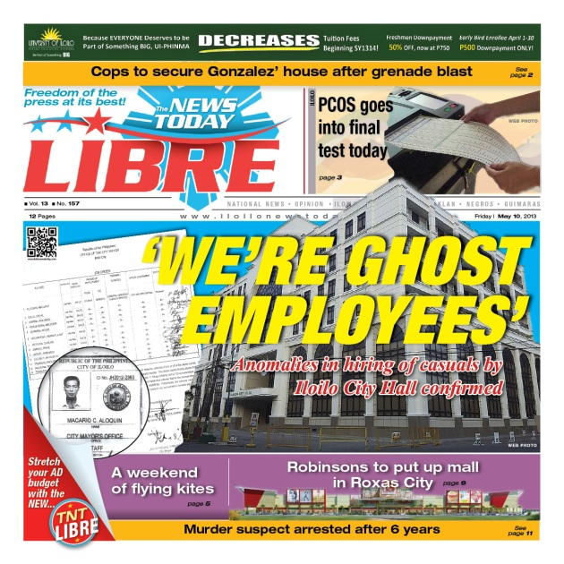 Whistle blower confirms 'ghost job hires' in Iloilo City Hall