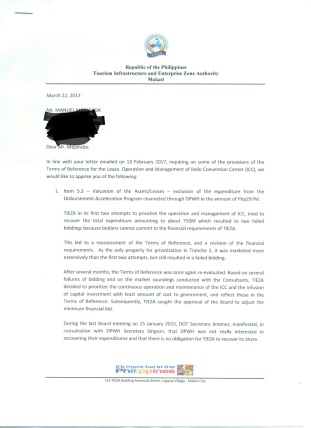 TIEZA ICC LOM PAGE 1