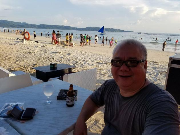 Boracay beach front June 2017