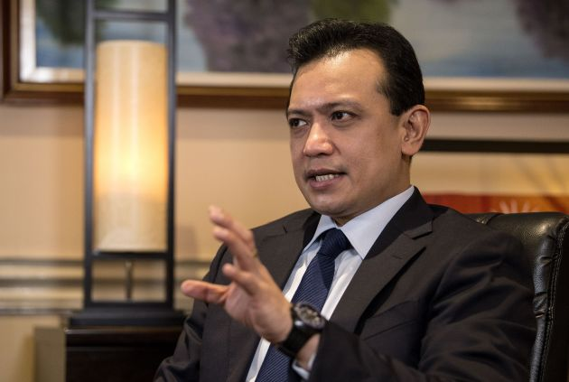 PHILIPPINES-POLITICS-CRIME-RIGHTS-TRILLANES