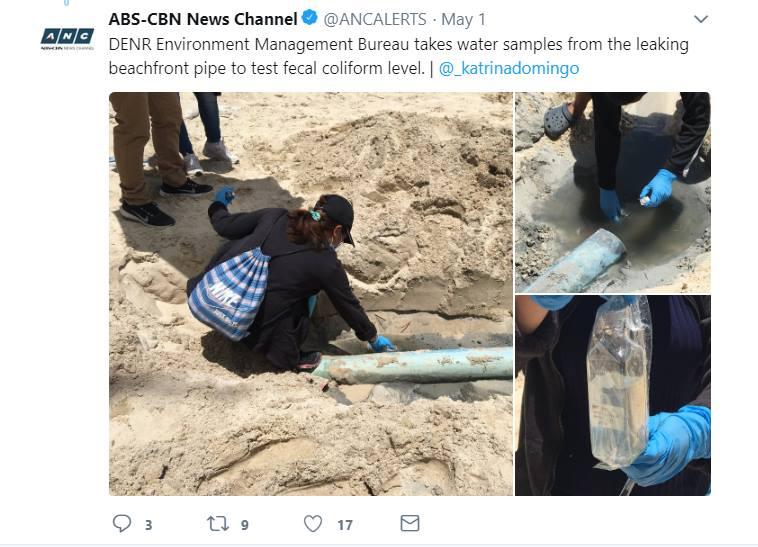 abs cbn photos beachfront pipe