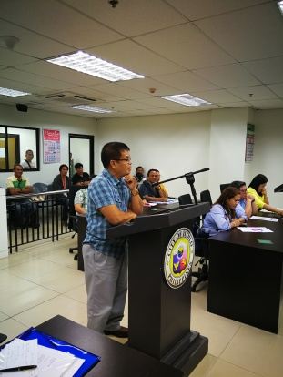 Former Ingore barangay captain Ernie Poral
