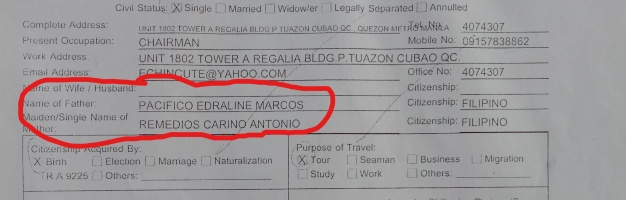 claim dr pacifico marcos